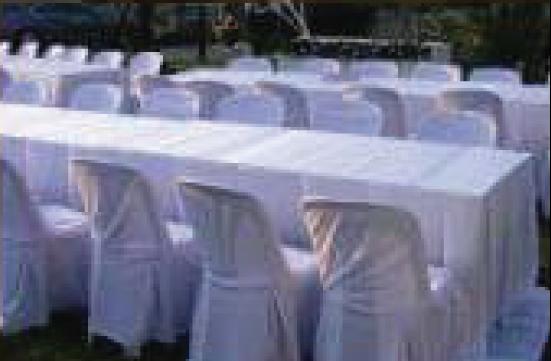 โต๊ะเต็นท์งานอาหาร โต๊ะ เต็นท์ พัดลม เก้าอี้